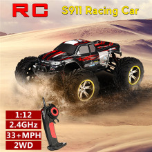 Crawler Toys Remote-Control-Car Monster Off-Road Waterproof High-Speed 2WD 1:12-2.4ghz