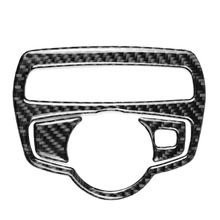 цена на Carbon Fiber Headlight Switch Frame Cover Trim Car Styling Decal Sticker for car accessories