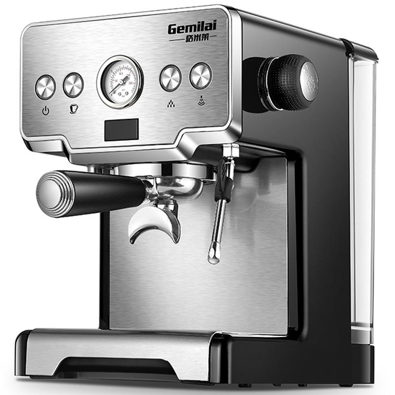 15bar Coffee Maker Espresso maker Semi Automatic Pump Type Cappuccino Milk Bubble Maker Italian Coffee Machine CRM3605 for home