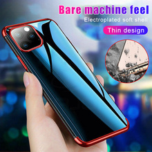 Original Case For iphone 11 Phone Protective ShockProof Soft Smartphone Cover Silicone Transparent