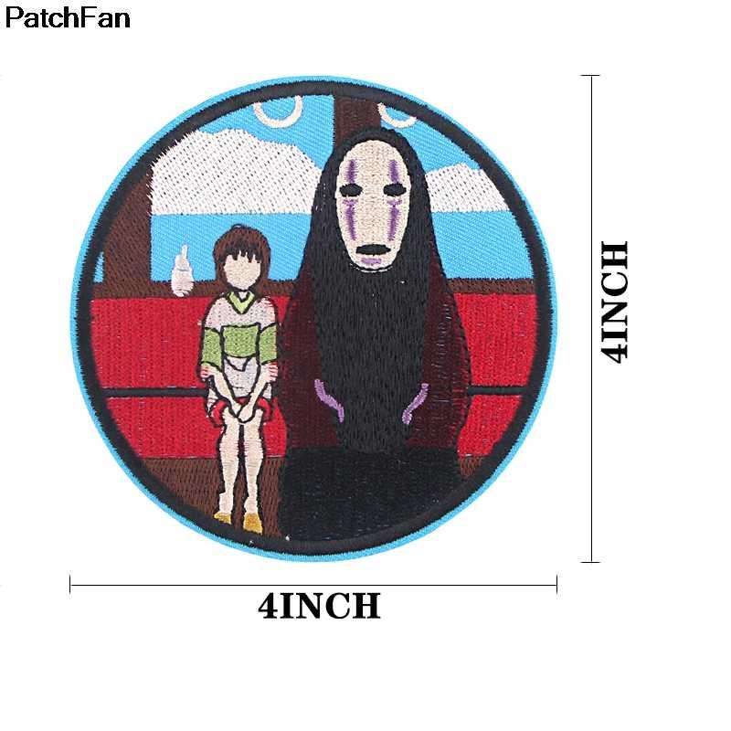 Patchfan Tinh Thần Đi Bộ Phim Hoạt Hình Sắt Trên Miếng Dán Quần Áo Embroideried Miếng Dán Cường Lực Phụ Kiện Tùy Chỉnh Phù Hiệu A2655