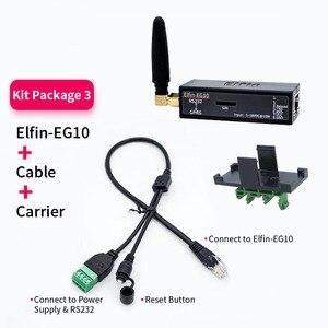 Image 5 - Küçük Elfin EG10 seri Port cihazı ağ bağlanmak Modbus tcp IP fonksiyonu RJ45 RS232 GSM GPRS seri sunucu