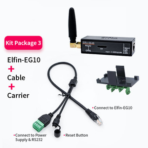 Image 5 - Smallest Elfin EG10 Serial Port Device Connect to Network Modbus TPC IP Function RJ45 RS232 to GSM GPRS Serial Server