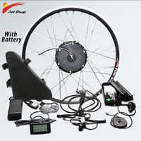 Elektrische Bike Conversion Kit Vorne Rad 48V 500W Batterie Bürstenlosen Getriebe Hub Motor Kit Bicicleta Electrica E bike conversion Kit