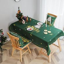Printed Cotton Table Cloth Christmas Tablecloth Nappe Party Wedding Green Tablecloth For Christmas Decoration Mantel Home Decor novel circular mesh pattern lace round tablecloth transparent christmas party wedding tea table mat decoration mantel nappe