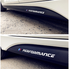 For BMW E90 E92 F20 F21 F30 F31 F32 F33 F34 F15 F16 F10 F01 F11 F02 G30 M Performance Side Skirt Sill Stripe Body Decals Sticker for bmw e90 e92 e93 f20 f21 f30 f31 f32 f33 f34 f15 f10 f01 f11 f02 g30 m performance side skirt sill stripe body decals sticker