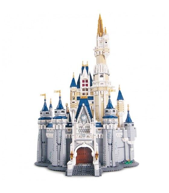 16008 Friends Compatible Princess Castle City Model Building Blocks 4080pcs Girl Gift Bricks Micro Block Toys