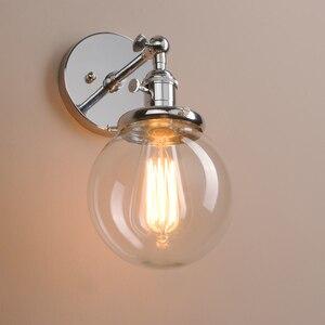 Image 3 - Permo 5.9 Vintage Wandlamp Moderne Glazen Wandkandelaar Wandlampen Armaturen Armatuur Loft Nachtkastje Spiegel Lamp Trapverlichting