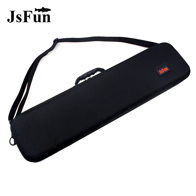 Outdoor Fishing Bags 63cm EVA Shockproof Fishing Tackle Bag Portable Rod And Reel Carry Bag Pole Storage Case With Strap PJ221