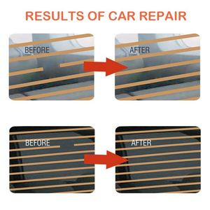 Image 4 - Car Rear Window Defogger Repair Kit For Car Scratches Broken Grid Lines Conduct Electricity Auto Back Window Repair Tool Sets