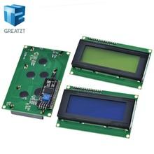 1 шт. ЖК-дисплей 2004 + I2C 2004 20x4 2004A синий экран HD44780 характер ЖК-дисплей/w IIC/ I2C последовательный Интерфейс модулем адаптера