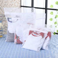 Machine à laver Dacron maille blanchisserie Protection sacs vêtements nettoyage soin sac Anti-enroulement voyage vêtements stockage sac à linge