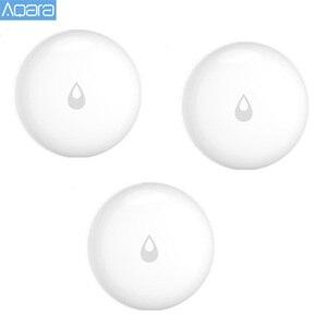 Image 1 - Aqara IP67 Wasser Eintauchen Sensor Wasser Leck Detektor für Home Remote Alarm Sicherheit Einweichen Sensor Bereit Sto
