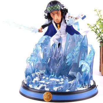 One Piece Anime Figure Aokiji Kuzan GK Statue One Piece Fighting Ver. Aokiji Kuzan Action Figure PVC Collectible Model Toy