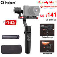 Hohem iSteady Multi 3-Axis Handheld Gimbal Stabilizer for Sony RX100 M2~M7 Digital Camera Action Camera Smartphone PK Crane M2