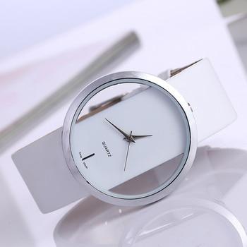 Top Leather Quartz Watch Lady Watches Women Luxury Antique Stylish Round Dress Watch Relogio Feminino Montre Femme