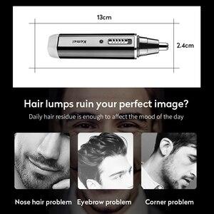 Image 2 - 4 en 1 Rechargeable hommes électrique nez oreille tondeuse indolore femmes coupe favoris sourcils barbe cheveux tondeuse coupe rasoir