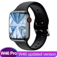 IWO 15 W46 Pro Smart Uhr Serie 6 44MM Für Apple IOS Android telefon Herz Rate Bluetooth call Wireless ladegerät PK IWO13 W56 W66