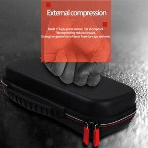 Image 5 - Housses pour à fermeture éclair à coque rigide Portable interrupteur EVA sacs de rangement de transport de protection pour Console NS accessoires cartes de jeu