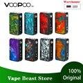 В наличии 177W VOOPOO DRAG 2 Box Mod No 18650 батарея Vape Mod электронная сигарета Vaporizer Drag Mod Vs Drag Mini/Shogun Univ