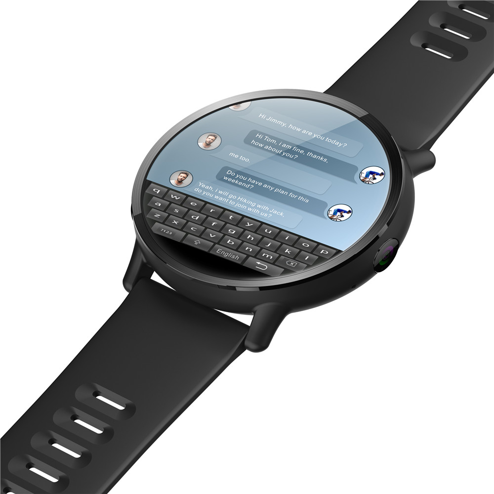 DM19 4G Waterproof Smart Watch with Android 2.03 Inch screen 900Mah battery 8MP Camera Bluetooth GPS maps For Men 5