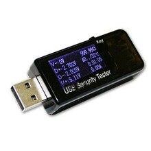 EASY-LCD USB детектор Вольтметр Амперметр мощность ёмкость тестер напряжение измеритель тока