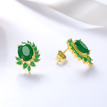 2019 Fashion Stone wholesale Accessories Stud Earrings For women colorful Crystal wedding Jewelry Bridal Engagemt Gift girls