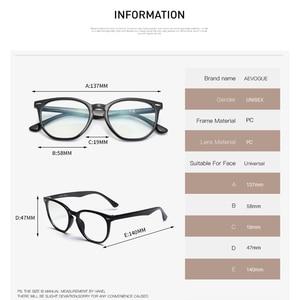 Image 3 - AEVOGUE Anti Blue Light Glasses Men Optical Eyeglasses Prescription Frame Women Polygon Eyewear AE0787