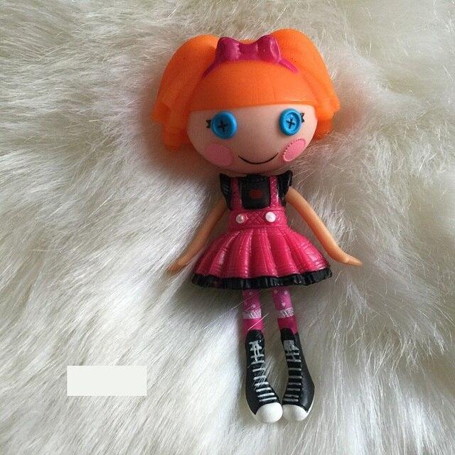 8cm orijinal MGA Lala bebek toplu düğme gözler Brinquedos oyuncaklar oyun evi aksiyon figürü kız bebek