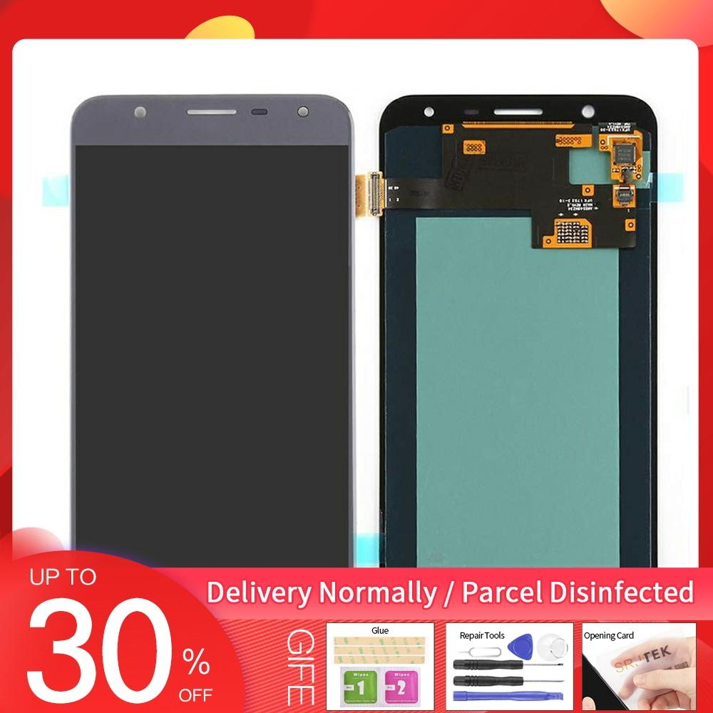"""AMOLED 5.5"""" For Samsung Galaxy J7 Duos 2018 J720 SM-J720 J720F LCD Display Digitizer Touch Screen Assembly For J7 Duo 2018 lcd"""