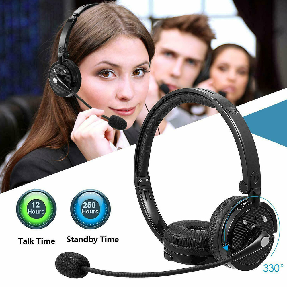 Volume Control Noise Cancelling PC Gaming Phone Accessories Audio Hands-free With Mic Wireless Stereo Bluetooth Headset For PS3