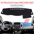 Dash MAT สำหรับ Mitsubishi Pajero MK2 Shogun Anti-SLIP MAT Dashboard ฝาครอบบังแดด Dashmat ป้องกันพรม Dash อุปกรณ์เสริม pad
