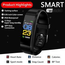 SKHO M3 Plus Smart Bracelet Heart Rate Blood Pressure Health Waterproof Watch ID115 PLUS Bluetooth Wristband