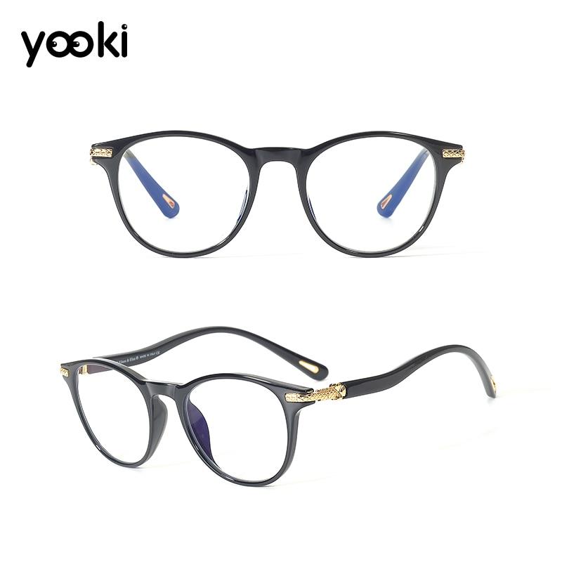 Men Spectacle Frame Acetate Prescription Glasses Women Optical Frames Glasses Myopia Adjustable Strength Lens Eyewear ES7606