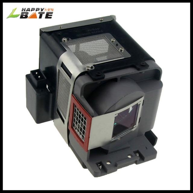 Lampe projecteur VLT XD600LP pour XD600U/LVP XD600/GX 740/GX 745 avec boîtier, garantie 180 jours, happybate, nouveau, vente en gros