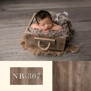 Image 3 - Fondale neonato per la Fotografia Del Bambino Doccia Festa di Compleanno Pavimento In Legno Foto di Sfondo per Bambini In Studio