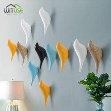 1PC Simple Modern Bird Water Drop Home Storage Organization Wall Door Decor Hanging Clothes Hook