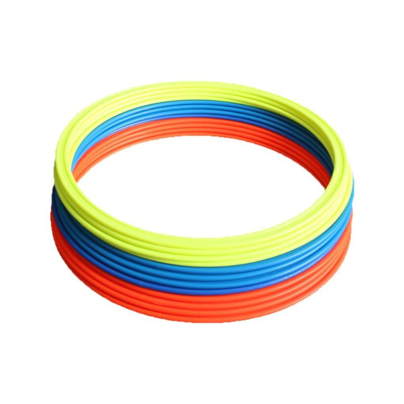 5Pcs 30/40cm Soccer Speed Agility Rings ABS Sensitive Football Training Equipment Football Soccer Set Accessories