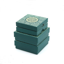 Hard Paper Blue Square Jewelry Organizer Box Rings Storage Box Gift Box For Rings Earrings Christmas gifts Jewelry Storage Boxes cheap ypacket Jewelry Gift Packaging DBX1940 Jewelry Packaging Display Carrying Cases Hard Paper Sponge As show 8x8x1 6cm 9x9x3cm