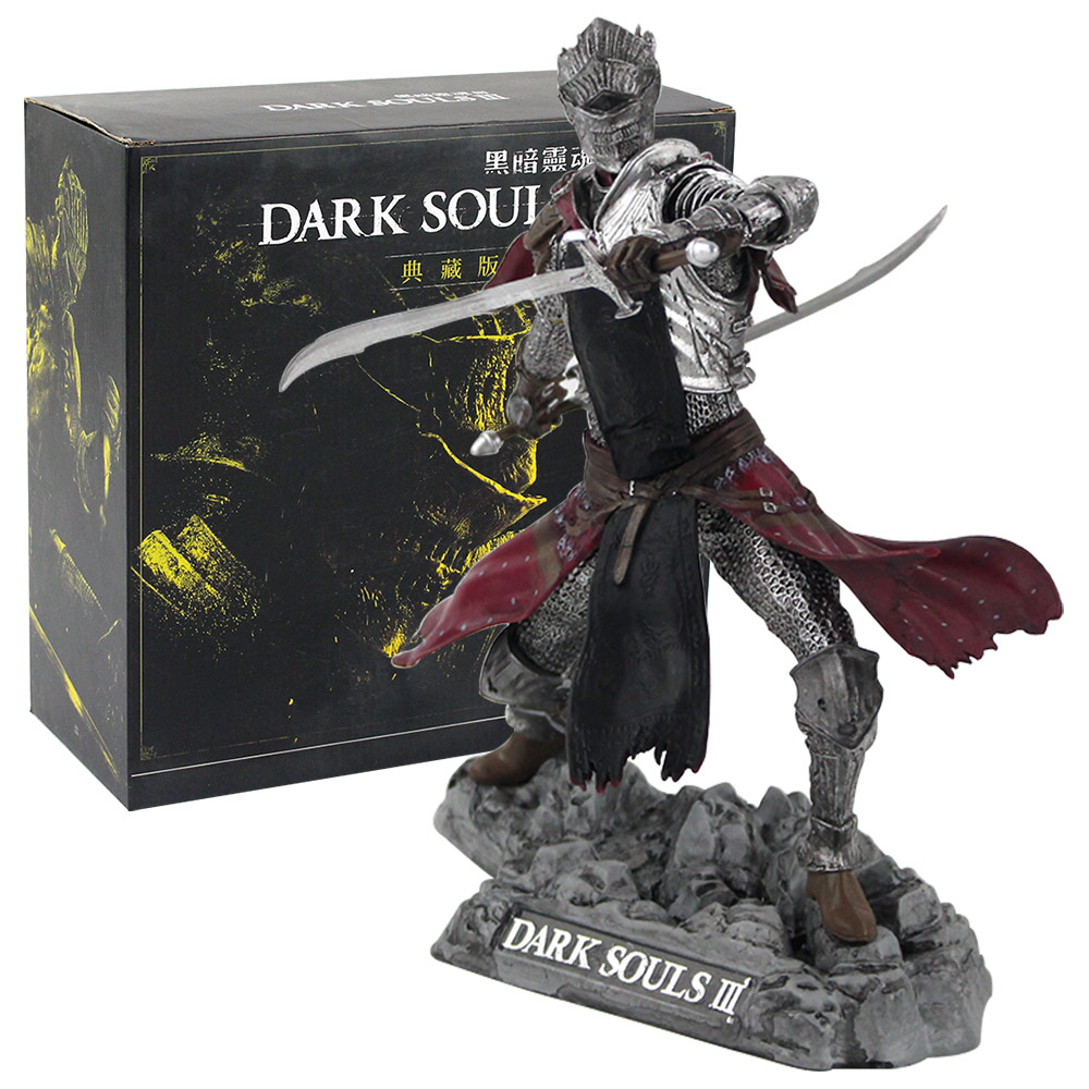 25cm Dark Souls 3 III Red Knight Artorias The Abysswalker PVC Action Figure Collectible Model Doll Toys