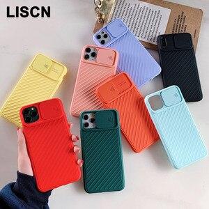 Защитный чехол для телефона с объективом камеры, для iPhone 11 Pro Max 8 7 6 6s Plus Xr XsMax X Xs, цветная Мягкая силиконовая задняя крышка, подарок