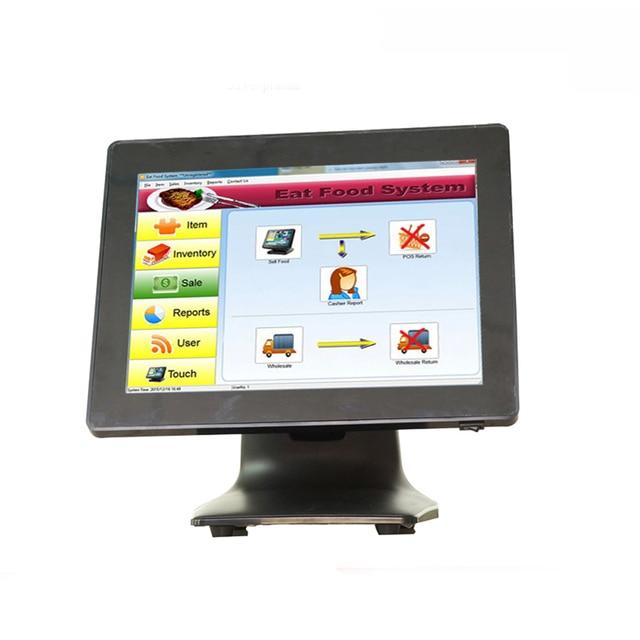 Systèmes de point de vente avec terminal tactile de 15 pouces, avec scanner/imprimante/tiroir-caisse, moins cher 2