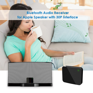 Image 2 - جهاز استقبال للموسيقى بلوتوث لاسلكي مصغر 30Pin BT4877 5.0 A2DP محول الصوت لبوس Sounddock II 2 IX 10 مكبر الصوت المحمول