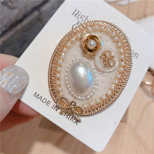 Brooches Pins Jewelry Clothes-Accessories Wholesale Crystal Elegant Fashion Retro New