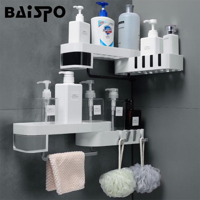 BAISPO étagère de salle de bain créative