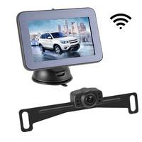 5 inch Drahtlose Auto Monitor Display Fahrzeug Auto Bildschirm Rückansicht Lkw Monitore Umge Back up Recorder Wifi Kamera
