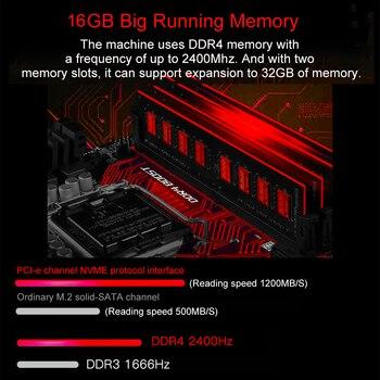 "SIHAWO 16GB RAM 128GB SSD 17.3"" Core i7-7700HQ GTX1060 Dedicated Graphics Windows10 Game Laptop Backlit Keyboard Gaming Notebook 2"