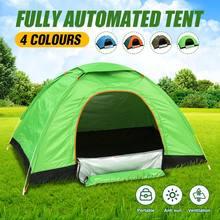 4 cores barracas dobráveis à prova dwaterproof água livre construção automática de abertura rápida ao ar livre viajar barraca acampamento praia sun shelter