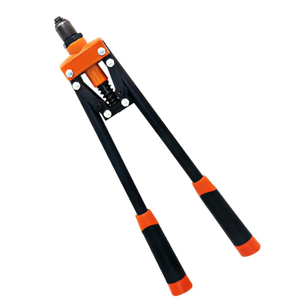 Core-pulling Riveter Gun Industrial-grade Riveter Labor-saving Hand Tools Double-pull Nail Gun Core-pulling Aluminum Riveter