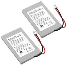 2 baterias sem fio para controlador bluetooth, para sony ps3